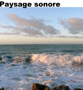Paysage sonore